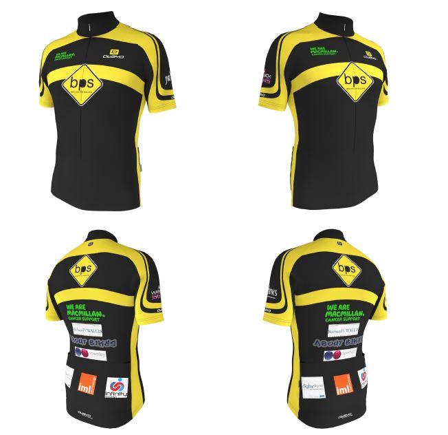Cycling Jersey Sample
